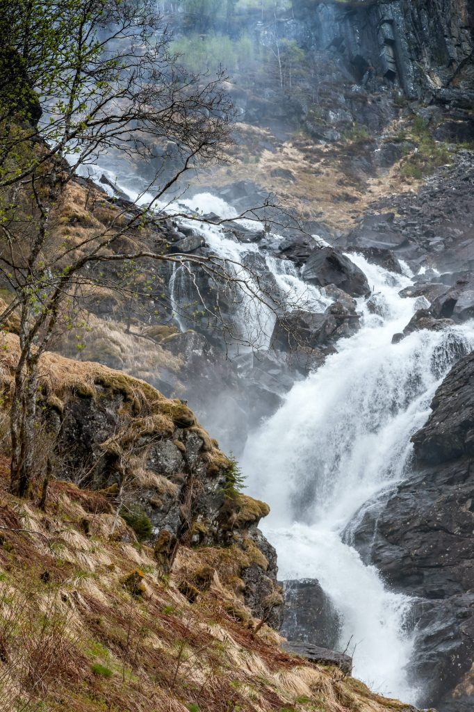 chute d'eau en norvège